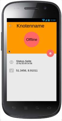 Mockup: Offline freifunk node
